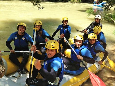 donde hacer rafting Andalucia Granada
