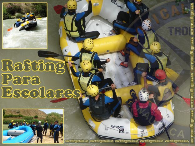 Rafting Institutos Colegios Ciclos Granada